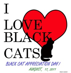 Consider adopting a black cat today!